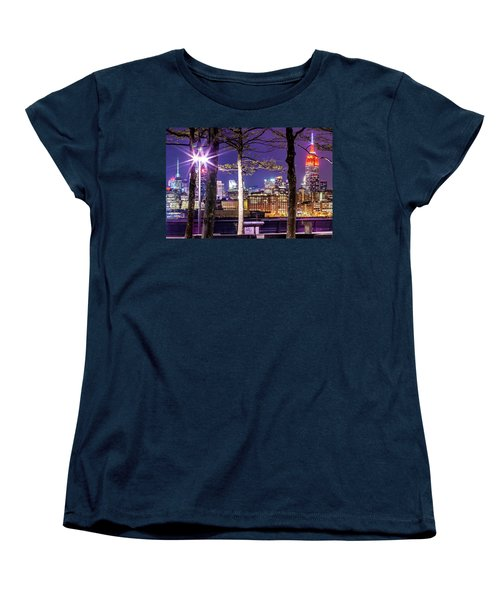 Women's T-Shirt (Standard Cut) featuring the photograph A View To Behold by Az Jackson