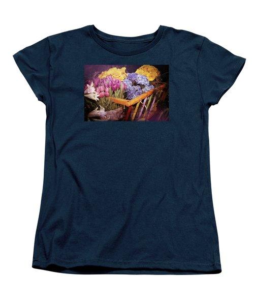 A Wagon Full Of Spring Women's T-Shirt (Standard Cut) by Patrice Zinck