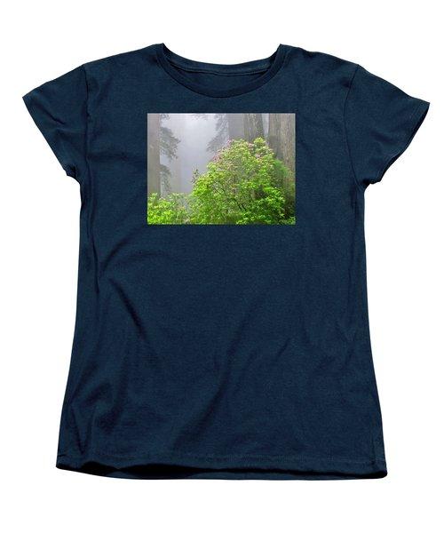 A Walk Alone Women's T-Shirt (Standard Cut) by Marilyn Diaz