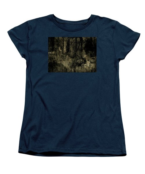 Women's T-Shirt (Standard Cut) featuring the photograph A Walk In The Park by Jim Vance
