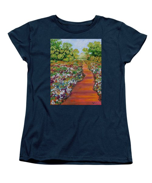 A Walk In The Park Women's T-Shirt (Standard Cut) by Mike Caitham