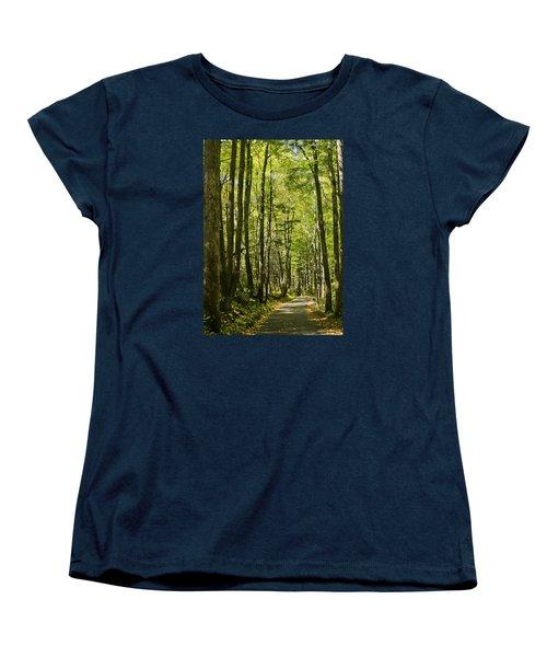 A Woodsy Trail Women's T-Shirt (Standard Cut)