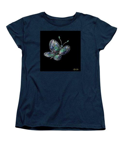 Abalonefly Women's T-Shirt (Standard Cut) by Rikk Flohr