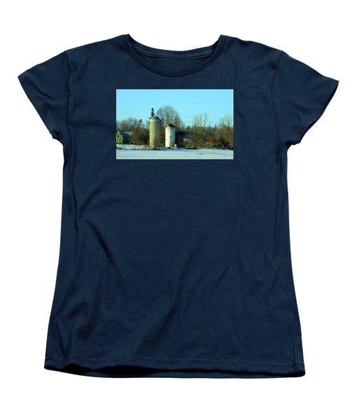 Abandoned Farm Women's T-Shirt (Standard Cut) by Betty-Anne McDonald