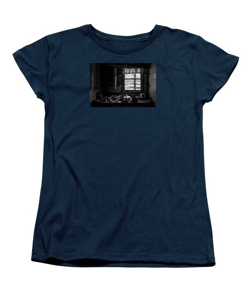Abandoned Kitchen Women's T-Shirt (Standard Cut) by Dan Traun