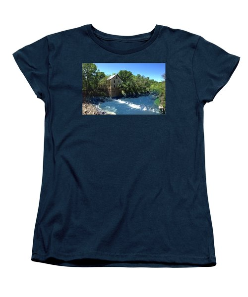 Abandoned Mill At Cedar Point Women's T-Shirt (Standard Cut) by Rod Seel