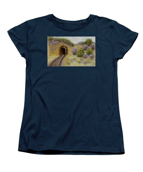 Abandoned Mine Women's T-Shirt (Standard Cut) by Laurie Morgan