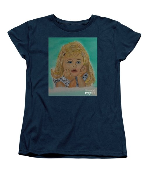 Women's T-Shirt (Standard Cut) featuring the painting Abbey by Rod Jellison