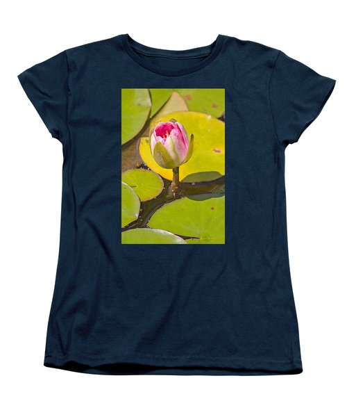 About To Bloom Women's T-Shirt (Standard Cut) by Peter J Sucy