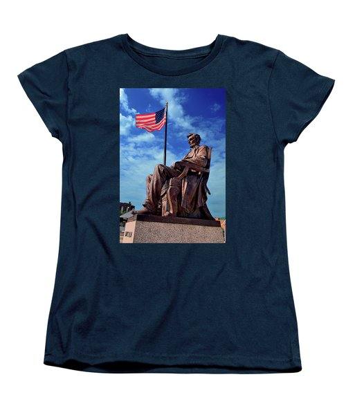 Abraham Lincoln Birthplace 002 Women's T-Shirt (Standard Cut) by George Bostian
