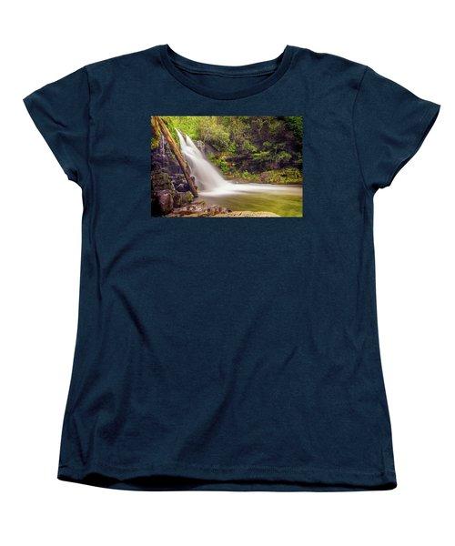Abrams Falls Women's T-Shirt (Standard Cut) by David Cote