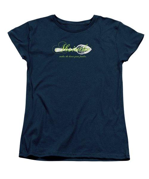 Absinthe Makes The Heart Grow Fonder - T-shirt Women's T-Shirt (Standard Cut)