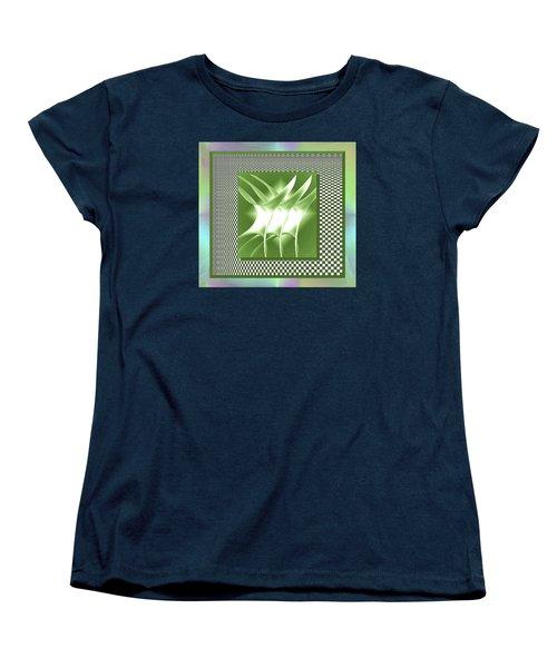 Abstract 54 Women's T-Shirt (Standard Cut) by Iris Gelbart