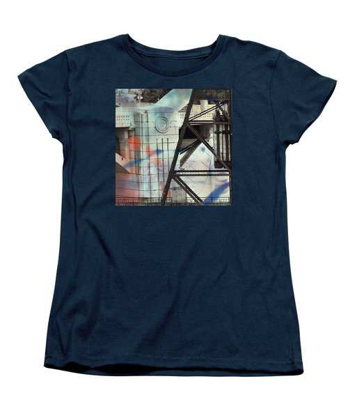 Abstract Architecture Women's T-Shirt (Standard Cut) by Susan Stone