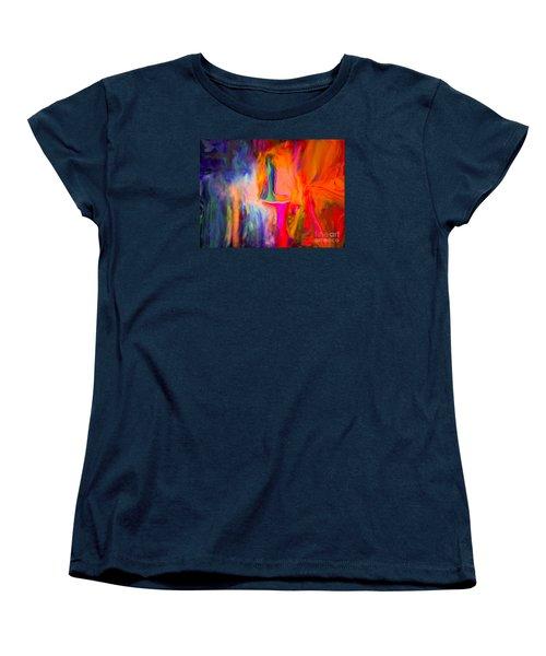 Abstract Art  Waiting Women's T-Shirt (Standard Cut) by Sherri's Of Palm Springs