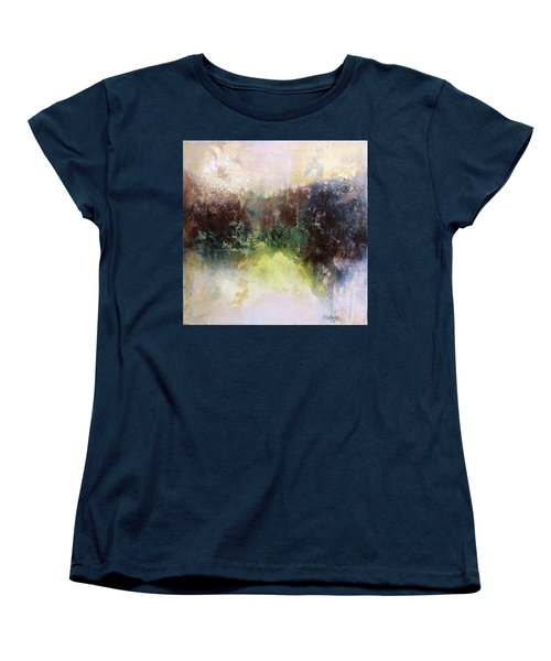 Abstract Contemporary Art Women's T-Shirt (Standard Cut) by Patricia Lintner
