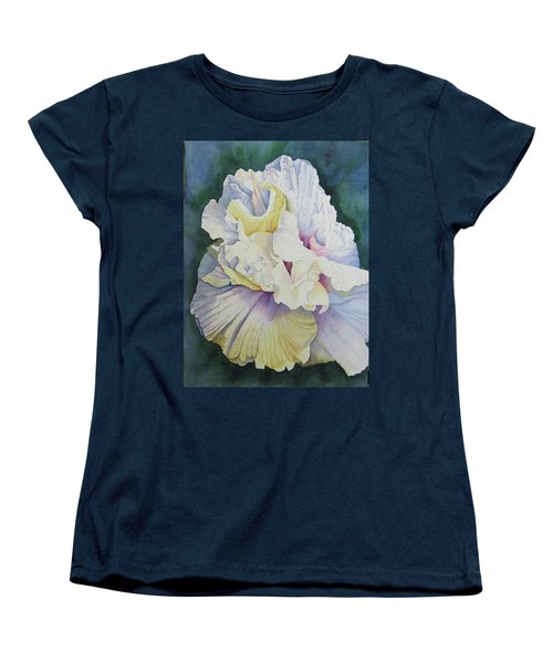 Abstract Floral Women's T-Shirt (Standard Cut) by Teresa Beyer