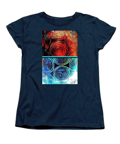 Women's T-Shirt (Standard Cut) featuring the digital art Abstract Fusion 275 by Will Borden