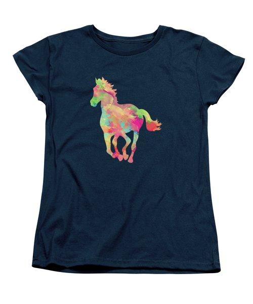 Abstract Horse Women's T-Shirt (Standard Cut) by Amir Faysal
