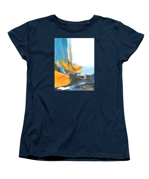 Abstract In Motion Women's T-Shirt (Standard Cut) by Glory Wood