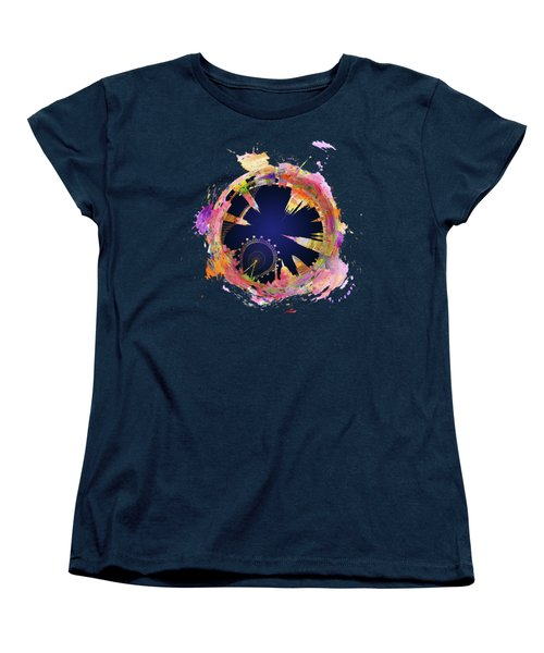 Abstract London Skyline At Night Women's T-Shirt (Standard Fit)