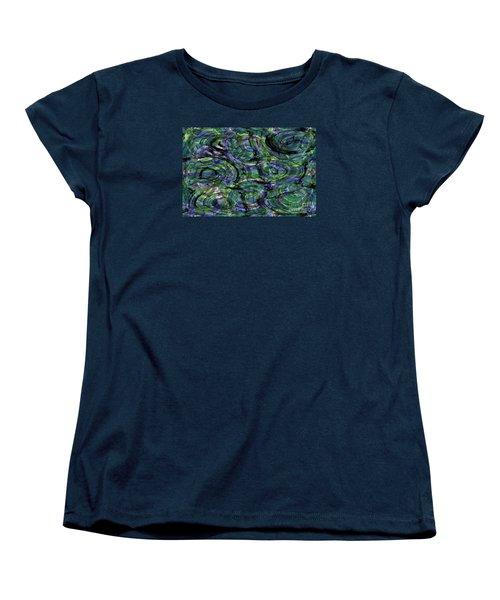 Abstract Pattern 5 Women's T-Shirt (Standard Cut) by Jean Bernard Roussilhe
