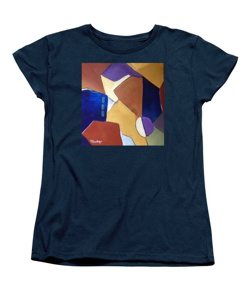 Abstract Square  Women's T-Shirt (Standard Cut) by Patricia Cleasby