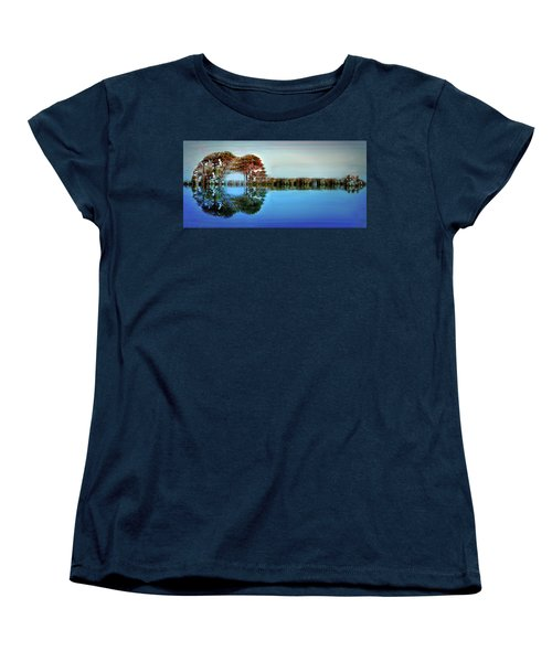 Acoustic Guitar At Gordon's Pond Women's T-Shirt (Standard Cut) by Bill Swartwout