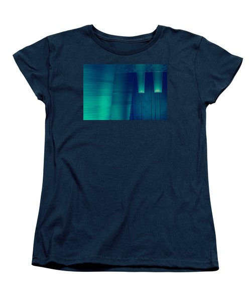 Women's T-Shirt (Standard Cut) featuring the photograph Acoustic Wall by Bobby Villapando