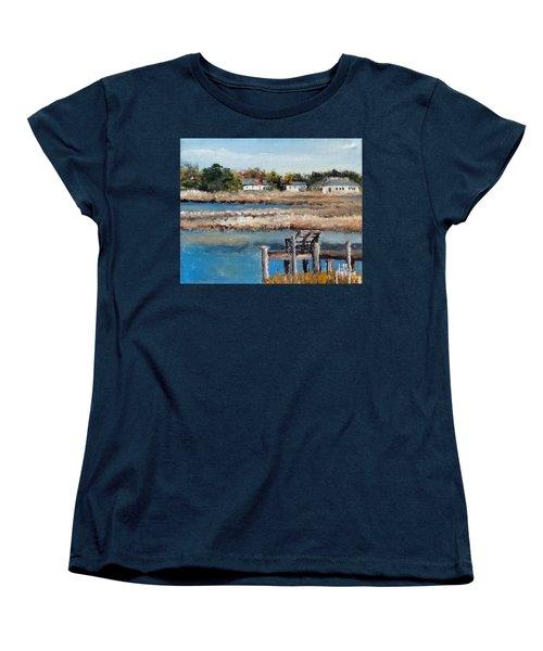 Across The White Oak Women's T-Shirt (Standard Cut) by Jim Phillips