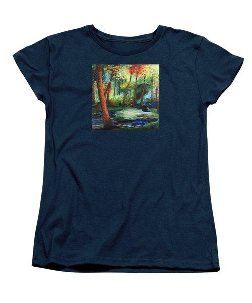 Acrylic Msc 217 Women's T-Shirt (Standard Cut) by Mario Sergio Calzi