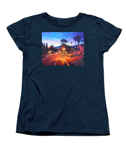 Twilight Passion Women's T-Shirt (Standard Cut) by Bonnie Lambert