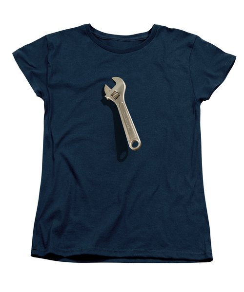 Adjustable Wrench Over Wood 72 Women's T-Shirt (Standard Fit)