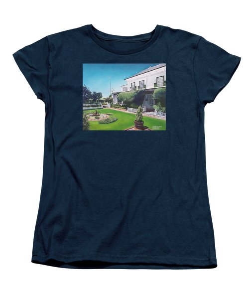 Admiralty House Women's T-Shirt (Standard Cut) by Tim Johnson