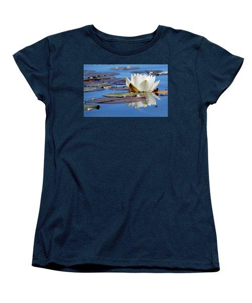 Adoring White Women's T-Shirt (Standard Cut)