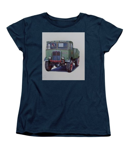 Women's T-Shirt (Standard Cut) featuring the painting Aec Matador Brs. by Mike Jeffries