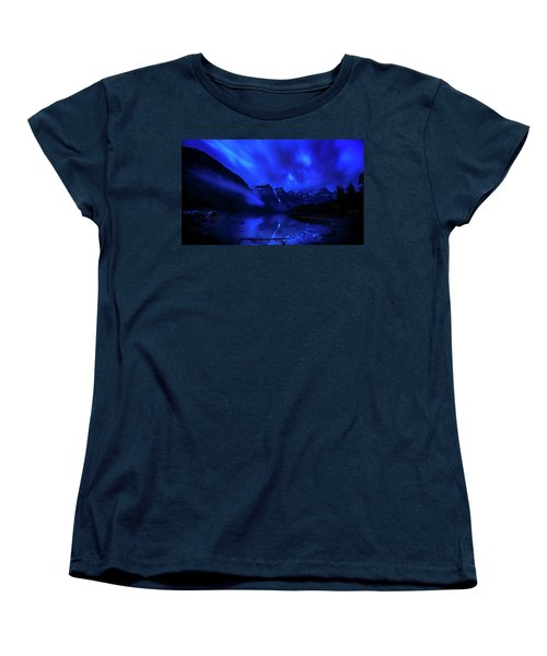 Women's T-Shirt (Standard Cut) featuring the photograph After Midnight by John Poon