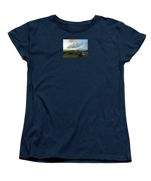 Women's T-Shirt (Standard Cut) featuring the photograph After The Rain by Anne Kotan