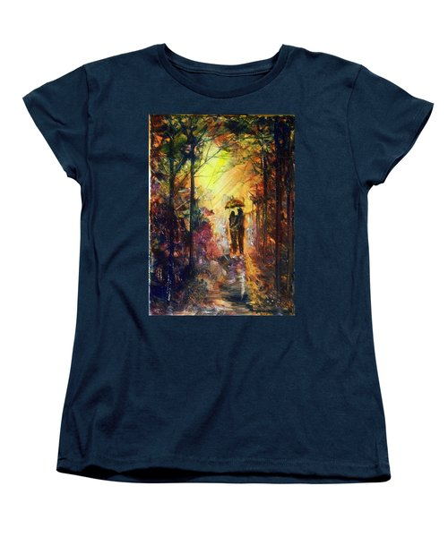 After The Rain Women's T-Shirt (Standard Cut) by Raymond Doward