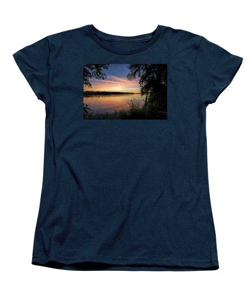 Women's T-Shirt (Standard Cut) featuring the photograph Afterglow by Cricket Hackmann