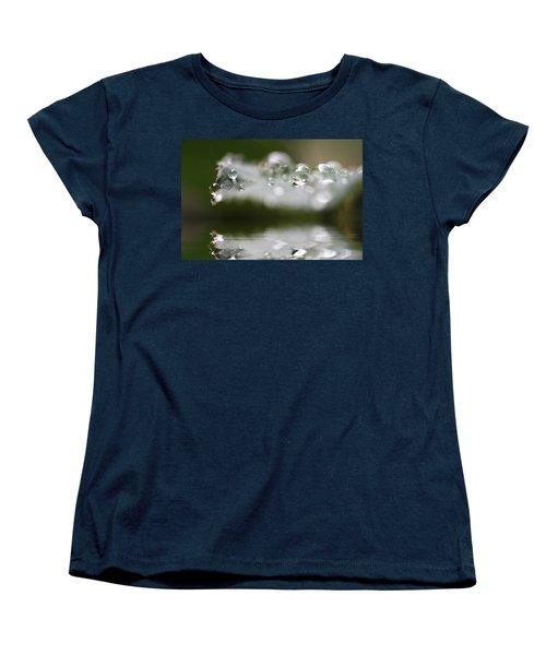 Afternoon Raindrops Women's T-Shirt (Standard Cut) by Kym Clarke
