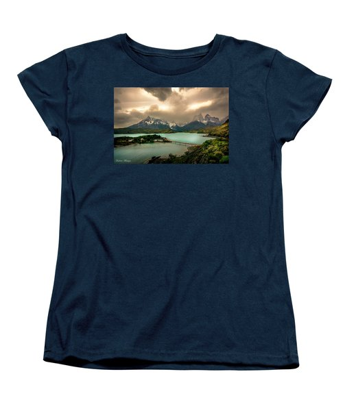 Women's T-Shirt (Standard Cut) featuring the photograph Afternoon Storm by Andrew Matwijec