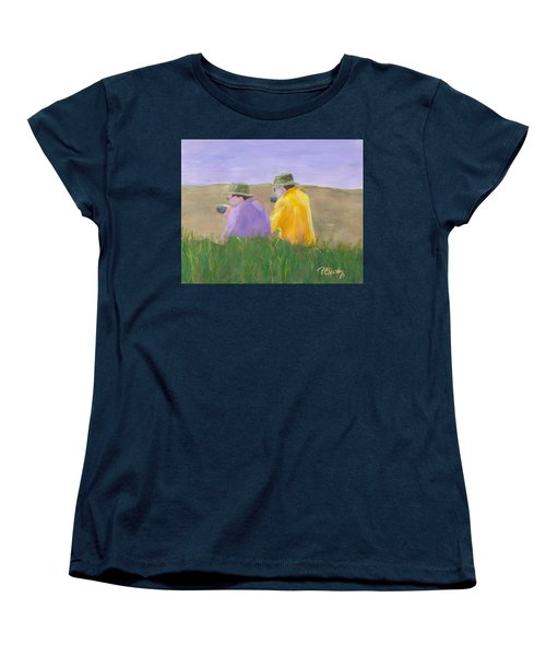 Afternoon Tea Women's T-Shirt (Standard Cut) by Patricia Cleasby