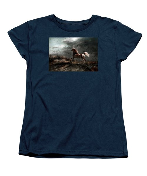 Against All Odds Women's T-Shirt (Standard Cut) by Dorota Kudyba