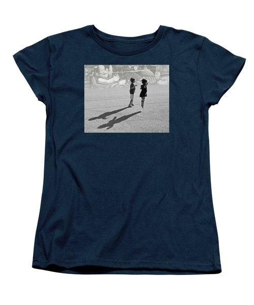 Against Gravity Women's T-Shirt (Standard Cut) by Christopher McKenzie
