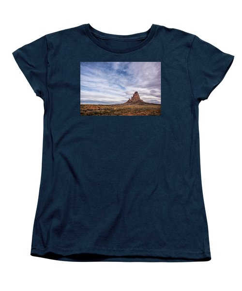 Women's T-Shirt (Standard Cut) featuring the photograph Agathla Wakes Up by Jon Glaser
