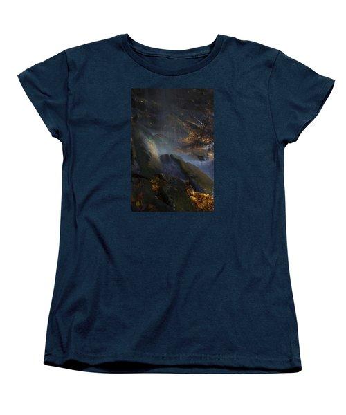 Women's T-Shirt (Standard Cut) featuring the photograph Aglow by Ellen Heaverlo