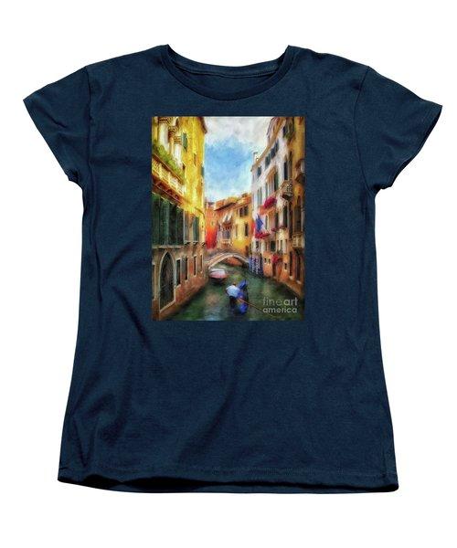 Ahh Venezia Painterly Women's T-Shirt (Standard Cut) by Lois Bryan