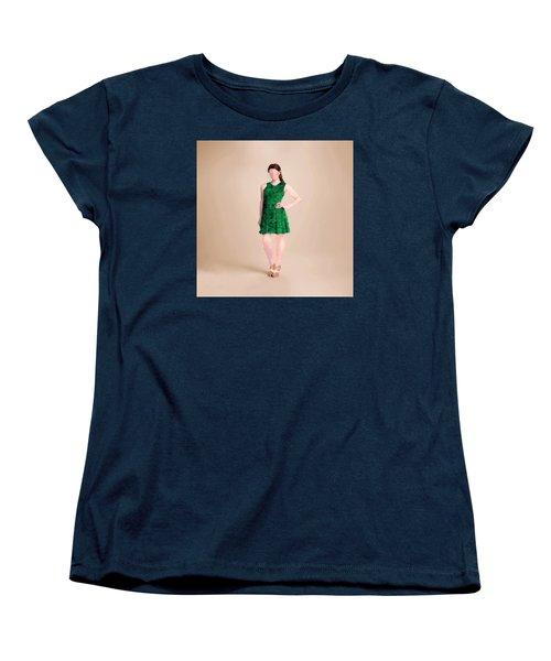 Women's T-Shirt (Standard Cut) featuring the digital art Ainsley by Nancy Levan