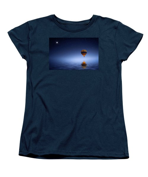 Air Ballon Women's T-Shirt (Standard Cut) by Bess Hamiti